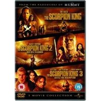 Scorpion King / The Scorpion King - Rise Of A Warrior / The Scorpion King 3 - Battle For Redemption