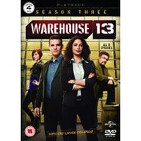 Warehouse 13 - Series 3 - Complete