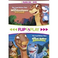 Flip & Play: The Land Before Time 2: The Great Valley Adventure / The Land Before Time 5: The Mysterious Island [DVD]