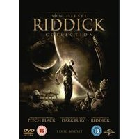 The Riddick Collection (Pitch Black/The Chronicles of Riddick: Dark Fury/The Chronicles of Riddick)