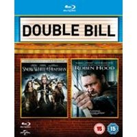 Snow White and the Huntsman/ Robin Hood (Blu-ray)