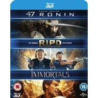 47 Ronin/RIPD/Immortals (Blu-ray 3D)