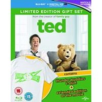 Ted (Limited Edition Gift Set with T-shirt) (Blu-ray)