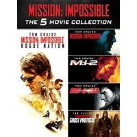 Mission Impossible 1-5 (Box Set)