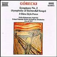 Polish NRSO/Kilanowicz/Wit - Gorecki/Symphony No.3 (Music CD)