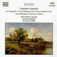 Gerald Finzi - Clarinet Concerto (Northern Sinfonia, Plane) (Music CD)