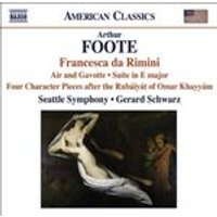 Foote, A: Francesca da Rimini (Music CD)