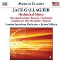 Gallagher: Orchestral Works (Music CD)