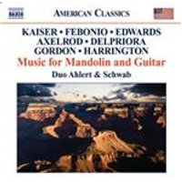Music for Mandolin and Guitar (Music CD)