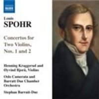 Spohr: Concertos for Two Violins Nos 1 & 2; Violin Duet Op 3 No 3 (Music CD)