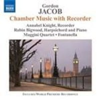 Jacob: Chamber Music with Recorder (Music CD)