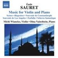 Emile Sauret: Music for Violin & Piano (Music CD)