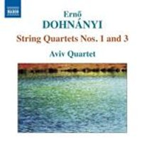 Erno Dohnanyi: String Quartets Nos. 1 and 3 (Music CD)