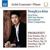 Prokofiev: Etudes, Op. 2; Pieces, Opp. 3 & 32; Sonatinas, Op. 54; Sonata No. 5 (Music CD)