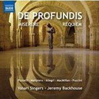 De Profundis (Music CD)