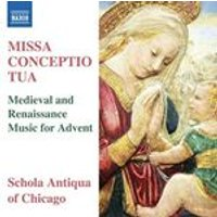 Missa Conceptio Tua: Medieval and Renaissance Music for Advent (Music CD)