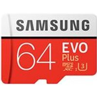 Samsung Memory Evo Plus 64GB Micro SD Card 95MB/s with Adapter