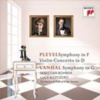 Pleyel: Symphony In F & Violin Concerto In D - Vanhal: Symphony In G (Music CD)