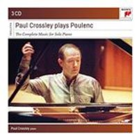 Paul Crossley plays Poulenc: The Complete Msuic for Solo Piano (Music CD)