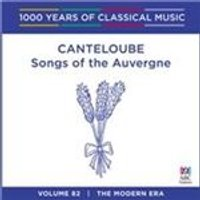 Songs of the Auvergne (Music CD)