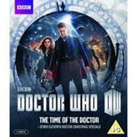 Doctor Who: The Time of the Doctor & Other Eleventh Doctor Christmas Specials (Blu-ray)