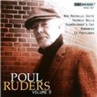 Poul Ruders Edition, Vol. 9 (Music CD)