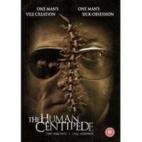 The Human Centipede 1 (First Sequence) + 2 (Full Sequence) 2-disc DVD Edition (Monster Pictures)