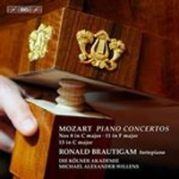 Mozart: Piano Concertos Nos. 8 in C major, 11 in F major, 13 in C major (Music CD)