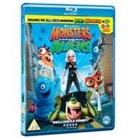 Monsters vs Aliens (with free 3D glasses) (Blu-Ray)