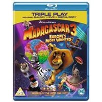 Madagascar 3: Europes Most Wanted - Triple Play (Blu-ray + DVD + Digital Copy)
