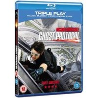 Mission Impossible - Ghost Protocol Blu-ray Triple Play (Blu-ray + DVD + Digital Copy)