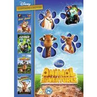 Disney Animal Adventures 4DVD Box Set (The Wild, Home on the Range, G Force, Beverley Hills Chihuahua)