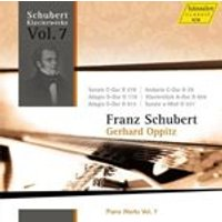 Schubert: Piano Works, Vol. 7 (Music CD)