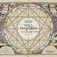 Vincenzo Galilei: The Well Tempered Lute, Tones I-IV (Music CD)