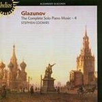 Alexander Glazunov - Complete Solo Piano Music - 4 (Coombs) (Music CD)