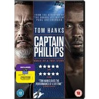 Captain Phillips (DVD + UV)