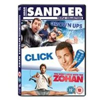 Click / Grown Ups / You Dont Mess With The Zohan Box Set