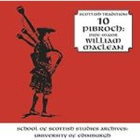 William Maclean - Pibroch (Scottish Traditional Series, Vol. 10) (Music CD)