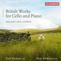 British Works for Cello and Piano, Vol. 3 (Music CD)