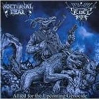 Nocturnal Fear - Allied for the Upcoming Genocide (Music CD)