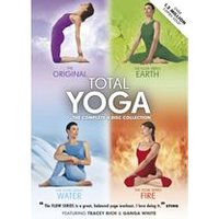 Total Yoga Collection - 4 Disc Box Set