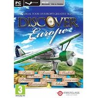 Discover Europe FSX and Steam (PC CD)