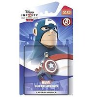 Disney Infinity 2.0 Marvel Super Heroes Character - Captain America Figure (PS4/PS3/Nintendo Wii U/Xbox 360/Xbox One)
