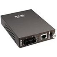 D-Link DMC 300SC - Media converter - 10Base-T, 100Base-FX, 100Base-TX - RJ-45 - SC multi-mode - external - up to 2 km