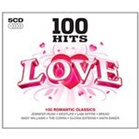 Various Artists - 100 Hits - Love (New Version) (Music CD)