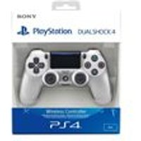 New Sony PlayStation DualShock 4- Silver (PS4)
