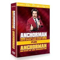 Anchorman - The Legend Of Ron Burgundy / Wake Up Ron Burgundy - The Lost Movie