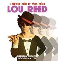 Lou Reed - I Never Said It Was Nice (Music CD)