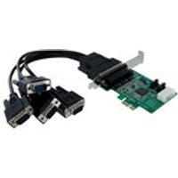 StarTech 4 Port Native PCI Express RS232 Serial Adaptor Card with 16950 UART