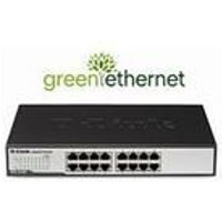 D-Link DGS-1016D 16-Port Green Ethernet Copper Gigabit Switch